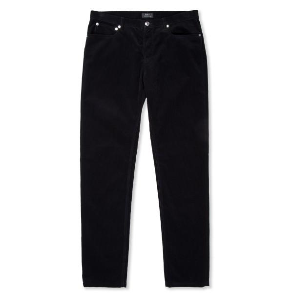 A.P.C. Petit Standard Corduroy Trouser (Noir)