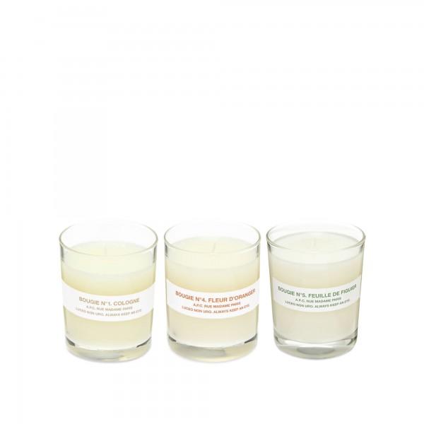 A.P.C. Small Candle Set (No. 1, 4 & 5)