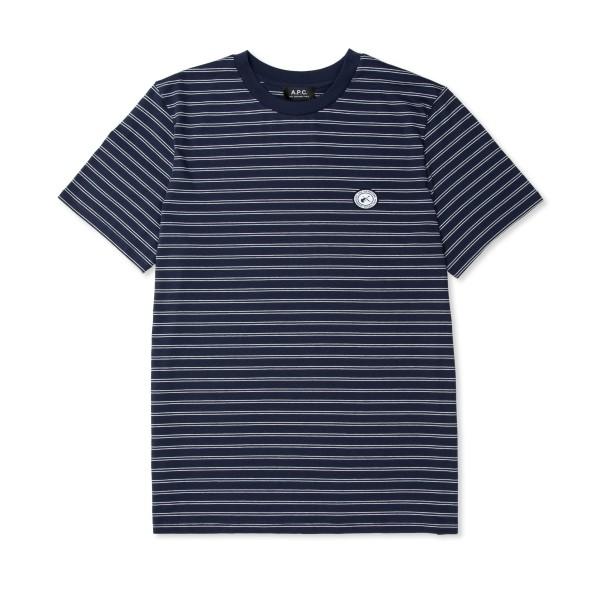 A.P.C. Stevie T-Shirt (Dark Navy Blue)