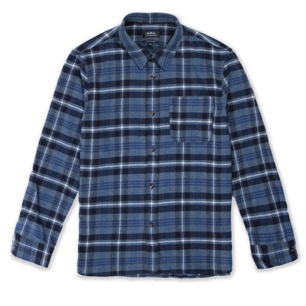 A.P.C. Surchemise Trek Overshirt (Blue)