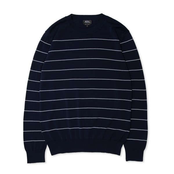 A.P.C. Terrence Sweater (Navy Blue)