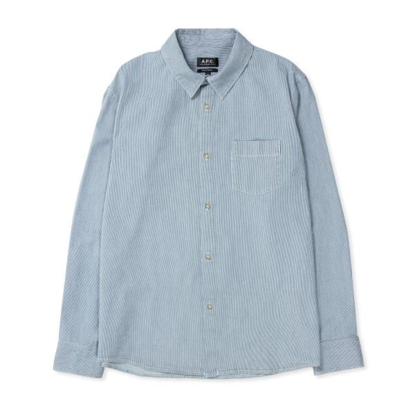 A.P.C. Victor Overshirt (Pale Blue)