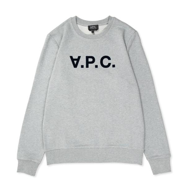 A.P.C. VPC Crew Neck Sweatshirt (Heather Grey)