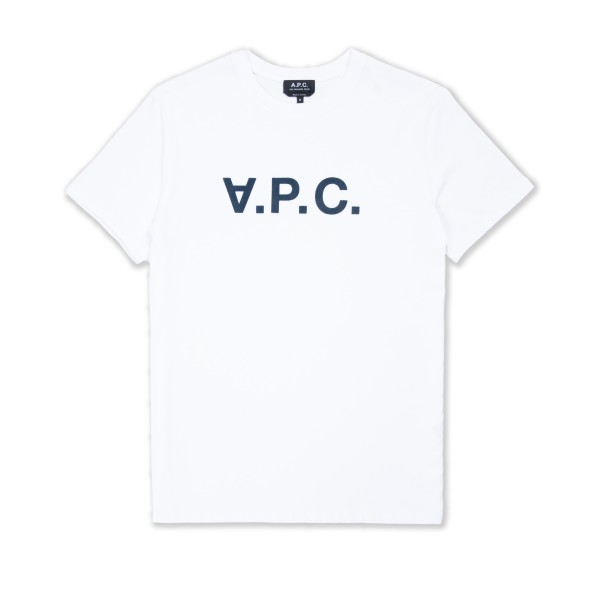 A.P.C. VPC T-Shirt (White/Dark Navy)