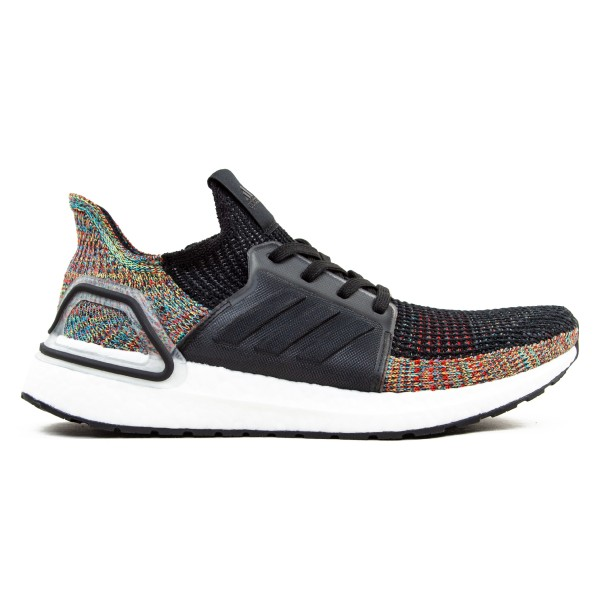 adidas UltraBOOST 19 'Dark Pixel' (Grey Six/Core Black/Shock Yellow)