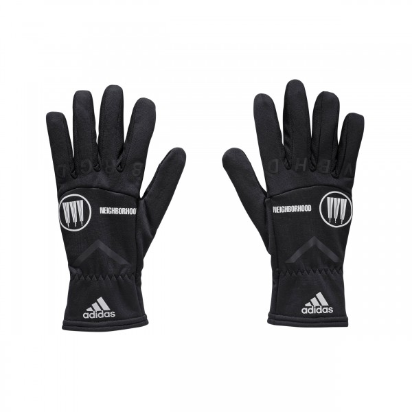 adidas by NEIGHBORHOOD Gloves 'Run City Pack' (Black)
