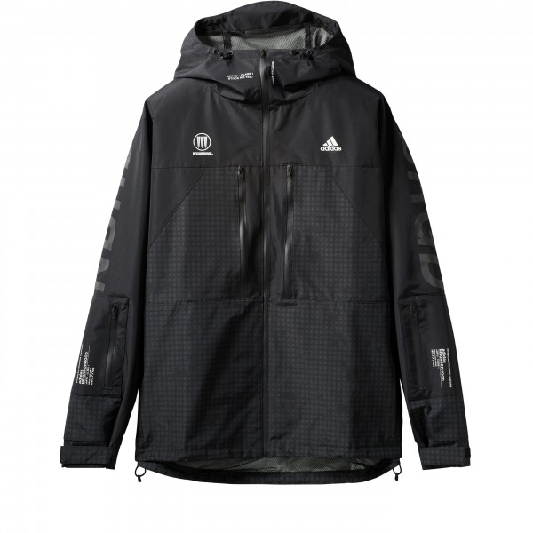 adidas by NEIGHBORHOOD Windbreaker Jacket 'Run City Pack' (Black)