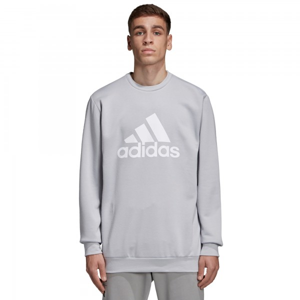 adidas by UNDEFEATED Running Crew Neck Sweatshirt (Clear Onix)