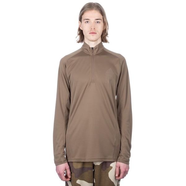 adidas by UNDEFEATED Technical Half Zip Sweatshirt (Tactile Khaki)