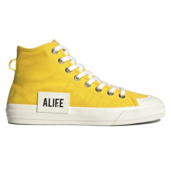 adidas Consortium x Alife Nizza Hi (Wonder Yellow/Off White/Off White)