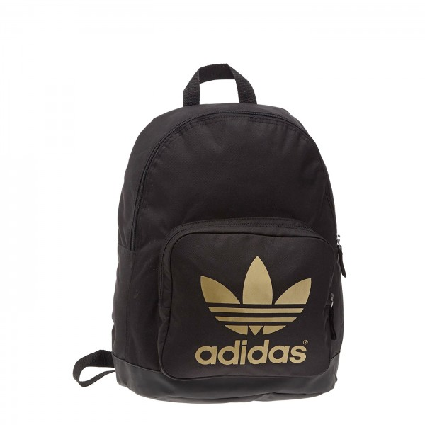 adidas Originals AC Classic Backpack (Black/Matte Gold)