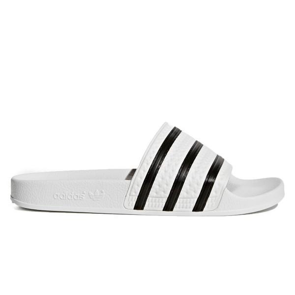 adidas Originals Adilette (White/Core Black/White)