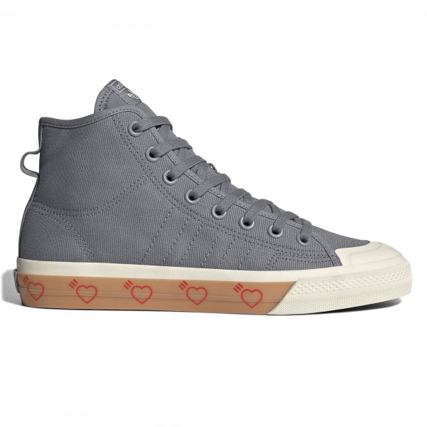 adidas Originals by Human Made Nizza Hi HM (Grey Five/Grey Five/Grey Five)