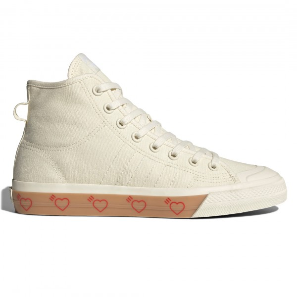 adidas Originals by Human Made Nizza Hi HM (Off White/Off White/Off White)