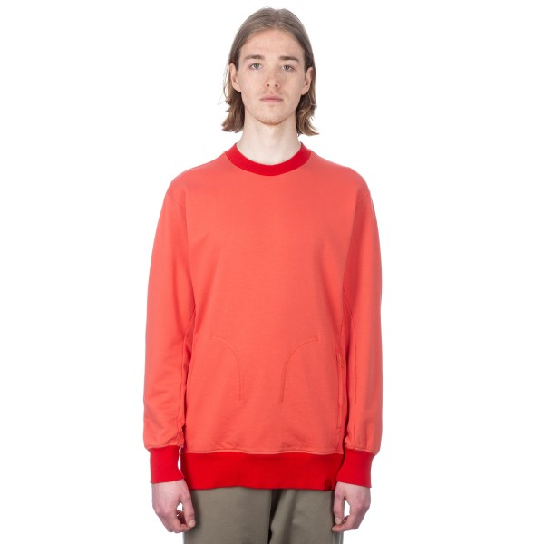 adidas Originals by Oyster Holdings XbyO Crew Neck Sweatshirt (Trace Scarlet)