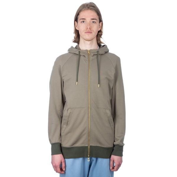 adidas Originals by Oyster Holdings XbyO Full-Zip Hooded Sweatshirt (Trace Cargo)