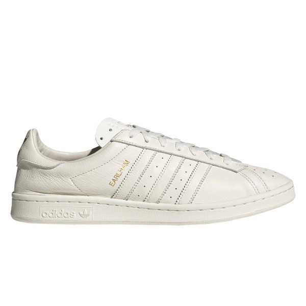 adidas Originals Earlham (Off White/Off White/Gold Metallic)