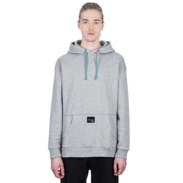 adidas Originals EQT 18 Pullover Hooded Sweatshirt (Medium Grey Heather)