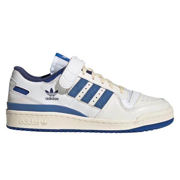 adidas Originals Forum 84 Low Blue Thread (Cloud White/Royal Blue/Cream White)
