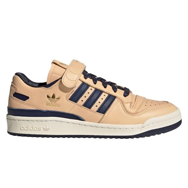 adidas Originals Forum 84 Low Blue Thread (Tan/Gold Foil/Gold Foil)