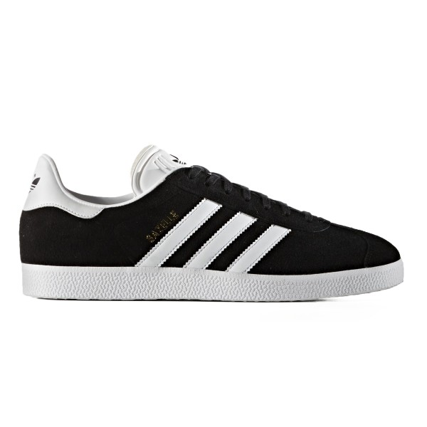 adidas Originals Gazelle (Core Black/Footwear White/Gold Metallic)