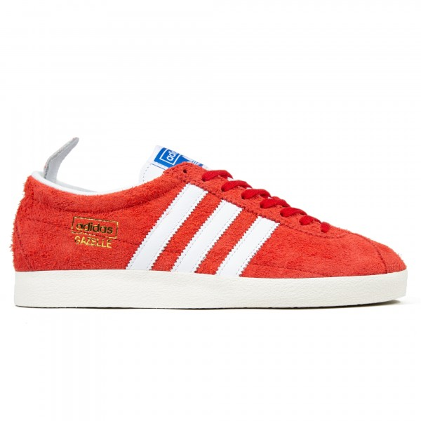 adidas Originals Gazelle Vintage (Scarlet/Footwear White/Gold Metallic)