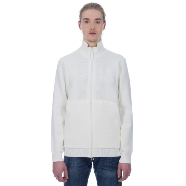 adidas Originals Pharrell Williams Hu Holi 'Blank Canvas' Track Jacket (Off White/White)
