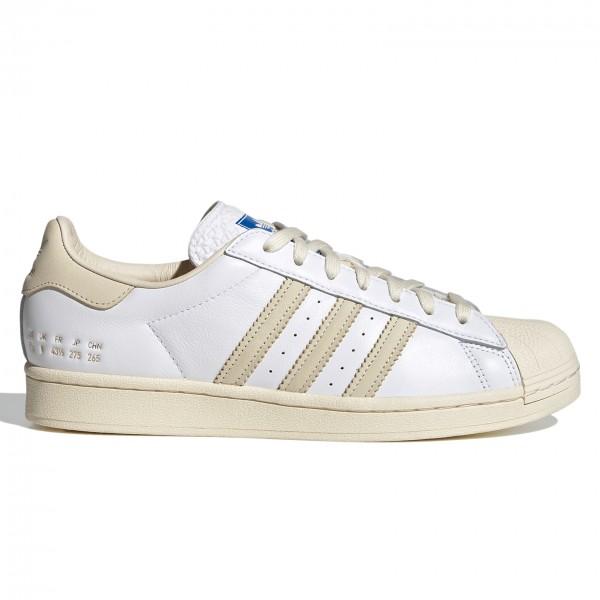 adidas Originals Superstar (Cloud White/Cream White/Blue Bird)