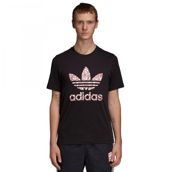 adidas Originals x have a good time T-Shirt (Black)