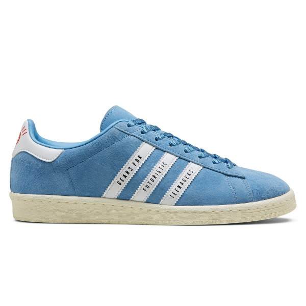 adidas Originals x Human Made Campus (Light Blue/Footwear White/Off White)