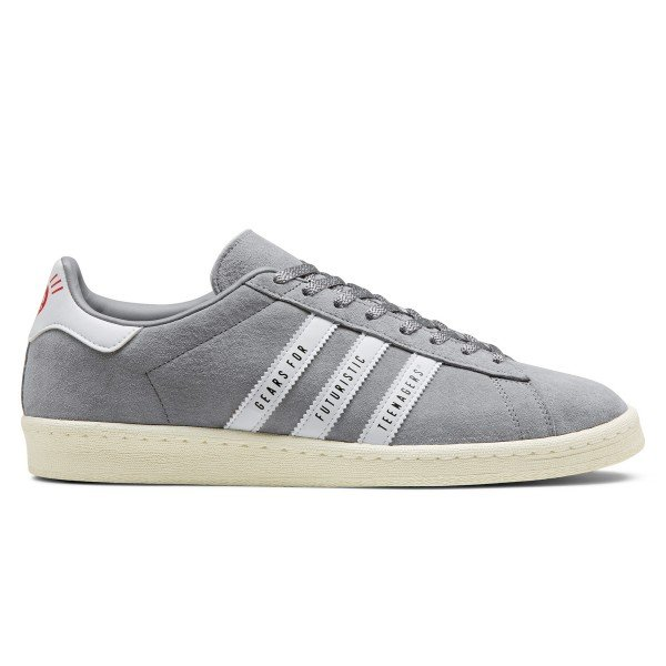 adidas Originals x Human Made Campus (Light Onix/Footwear White/Off White)