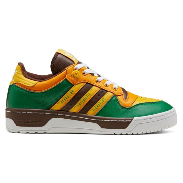 adidas Originals x Human Made Rivalry Low (Green/Footwear White/Supplier Colour)