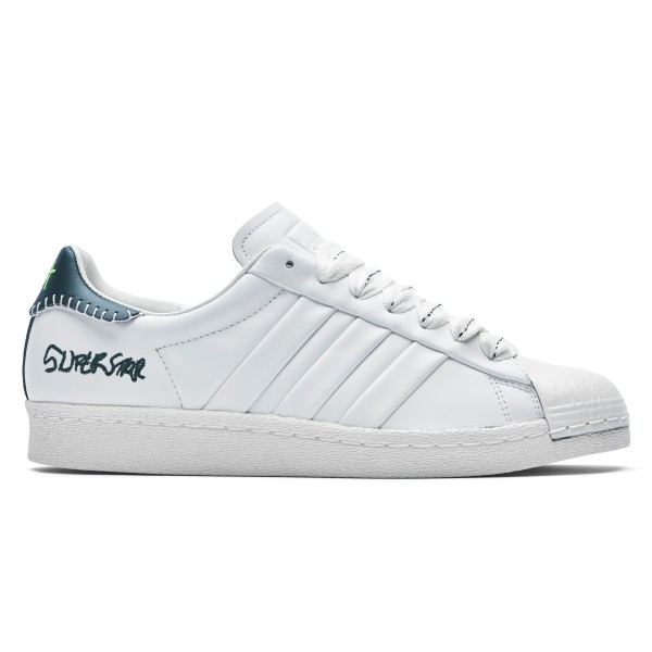adidas Originals x Jonah Hill Superstar (Core White/Green Night F17/Off White)