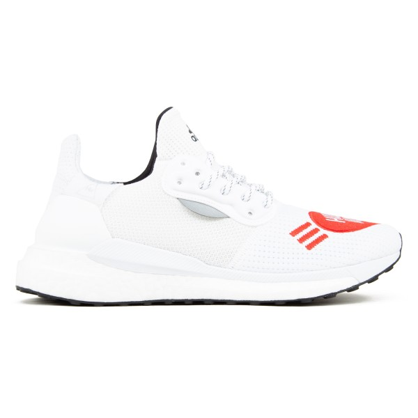 adidas Originals x Pharrell Williams x Human Made Solar Hu (Footwear White/Core Black/Scarlet)