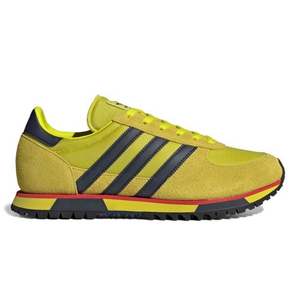 adidas Originals x SPEZIAL Marathon 86 SPZL (Shock Slime/Collegiate Navy/Yellow Spice)