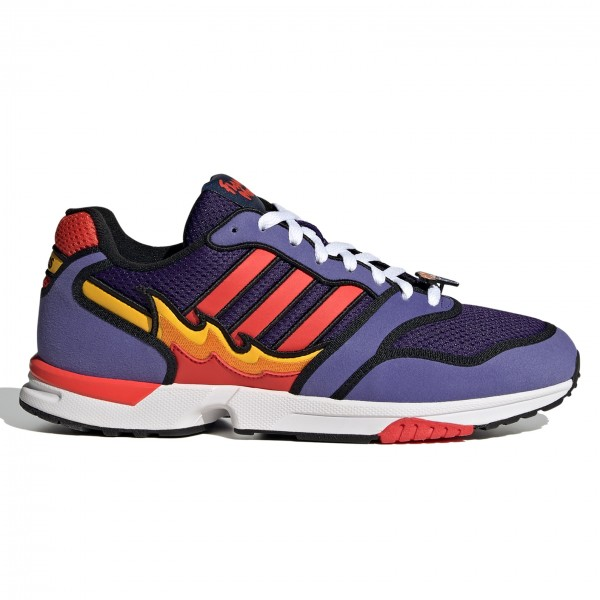 adidas Originals x The Simpsons ZX 1000 'Flaming Moes' (Purple/Bright Red/Core Black)