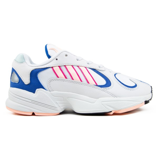 adidas Originals Yung-1 (Crystal White/Clear Orange/Collegiate Royal)