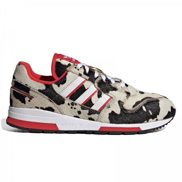 adidas Originals ZX 420 'Year of the Ox' (Cloud White/Lush Red/Core Black)