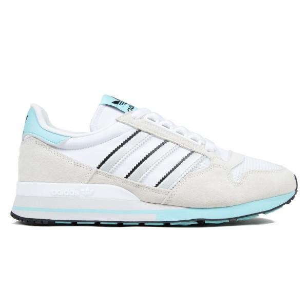 adidas Originals ZX 500 (Off White/Silver Metallic/Footwear White)