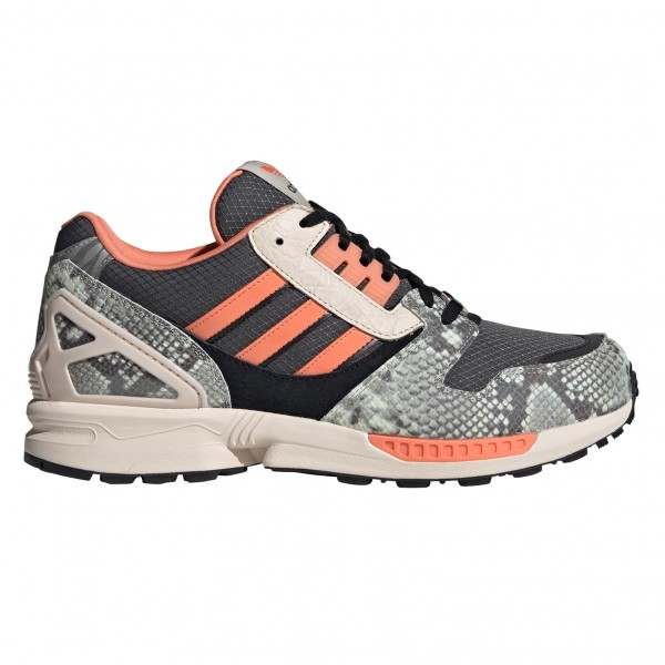 adidas Originals ZX 8000 'Lethal Nights Pack' (Grey Six/Semi Coral/Core Black)
