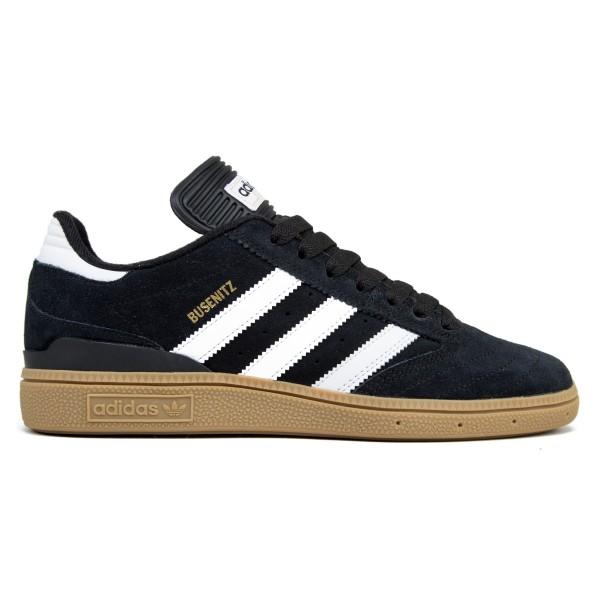 adidas Skateboarding Busenitz (Black 1/Running White FTW/Metallic Gold)