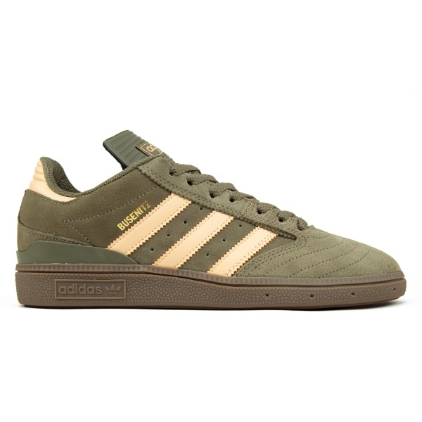 adidas Skateboarding Busenitz (Raw Khaki/Glow Orange/Footwear White)