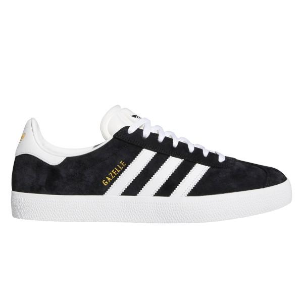 adidas Skateboarding Gazelle ADV (Core Black/Cloud White/Gold Metallic)