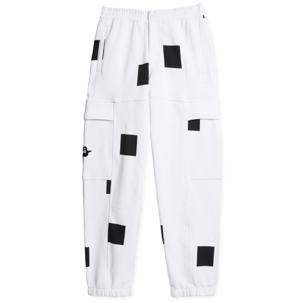 adidas Skateboarding Heavyweight Shmoofoil Box Pant (White/Black)