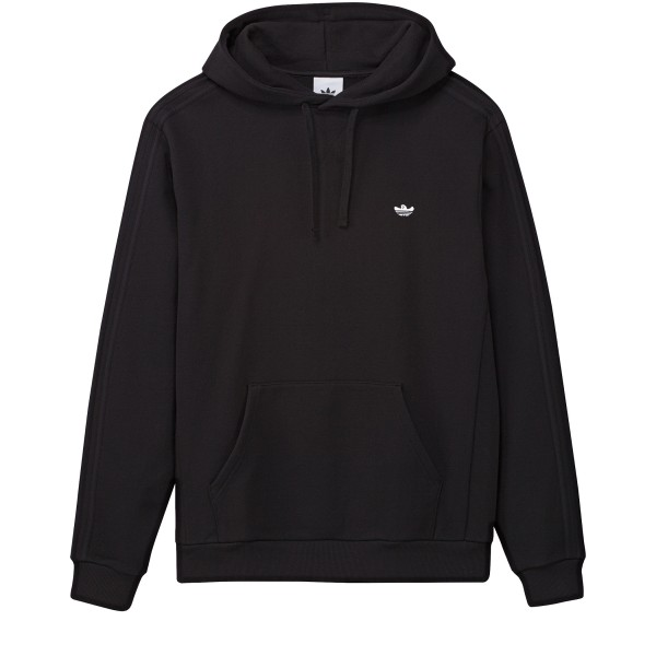 adidas Skateboarding Heavyweight Shmoofoil Pullover Hooded Sweatshirt (Black/White)