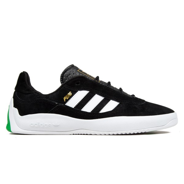 adidas Skateboarding Puig (Core Black/Footwear White/Vivid Green)
