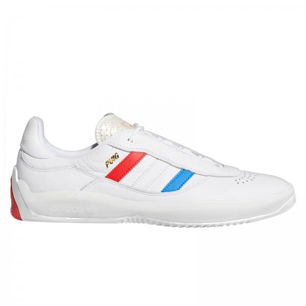 adidas Skateboarding Puig (Footwear White/Bluebird/Vivid Red)