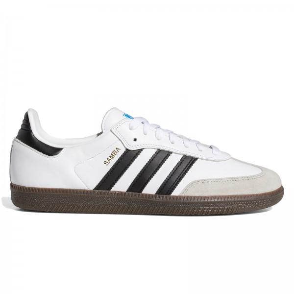 adidas Skateboarding Samba ADV (Footwear White/Core Black/Gum 5)