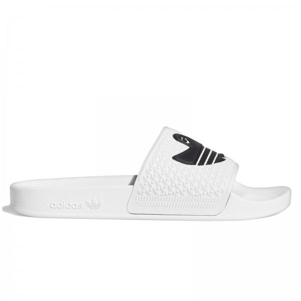 adidas Skateboarding Shmoofoil Slide (Cloud White/Core Black/Cloud White)