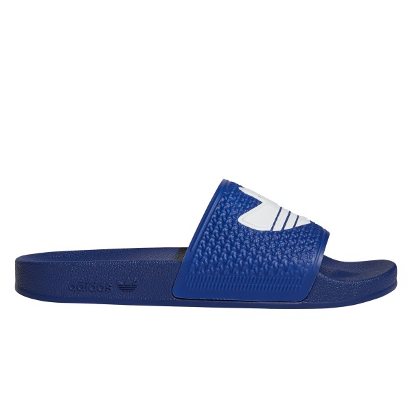 adidas Skateboarding Shmoofoil Slide (Victory Blue/Footwear White/Victory Blue)